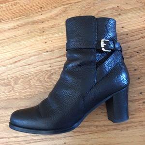 L.K.Bennett Black Leather Ankle Boots